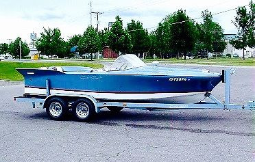Classic 1958 Chris Craft Siver Arrow Runabout