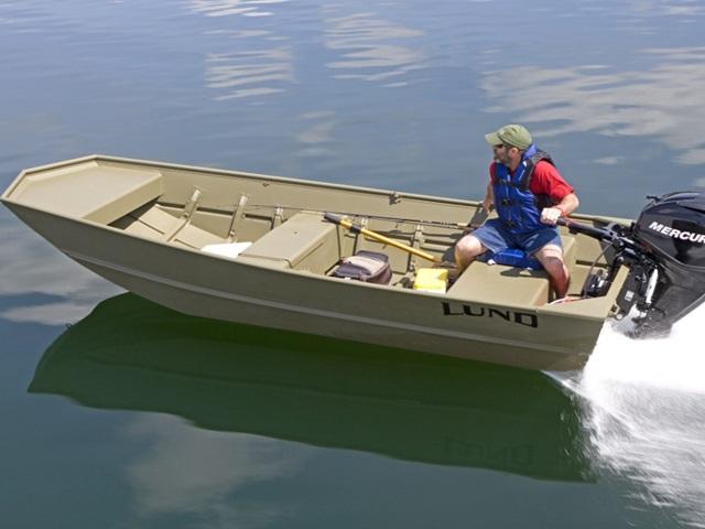 2015 Lund Jon Boat 1436L