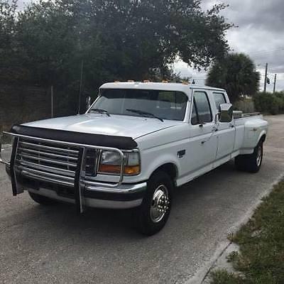 Ford : F-350 XLT Crew Cab Pickup 4-Door 1994 ford f 350 xlt crew cab pickup 4 door 7.3 l