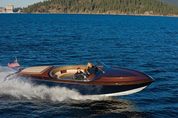 2015 Coeur Custom Wood Boats