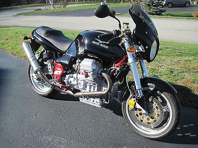 Moto Guzzi : V11 Sport 2000 moto guzzi v 11 sport factory titanium exhaust ignition module vgc low miles