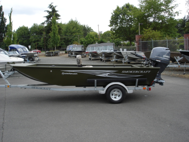 Smoker craft sportsman boats for sale in eugene oregon for Yamaha eugene or