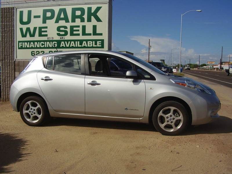 2012 nissan leaf silver cars for sale. Black Bedroom Furniture Sets. Home Design Ideas