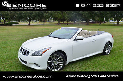 Infiniti : G37 2dr Convertible W/Premium and Navigation 2012 infiniti g 37 convertible 2 dr convertible w premium navigation cooled seats