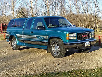 GMC : Sierra 1500 SLE 1996 gmc sierra extended cab z 71 4 x 4