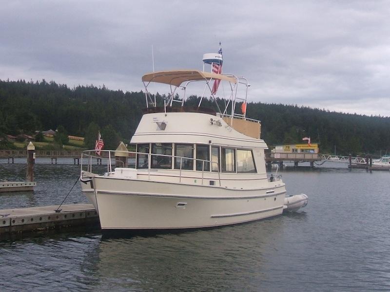 1993 Camano 31 Trawler