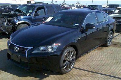 Lexus : GS F Sport Sedan 4-Door 2015 used 3.5 l v 6 24 v automatic awd sedan premium