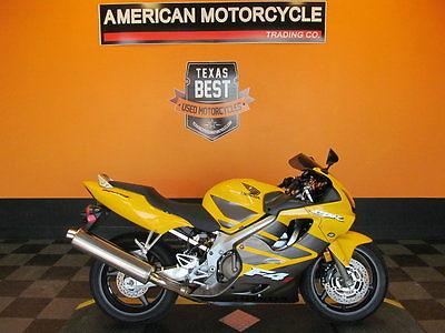 Honda : Other 2006 honda cbr 600 f 4 i pearl yellow 10 700 miles
