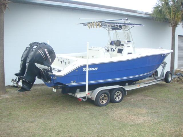 2007 Triton Saltwater 2690CC