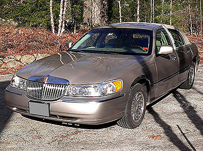 2001 Lincoln Town Car Cars For Sale