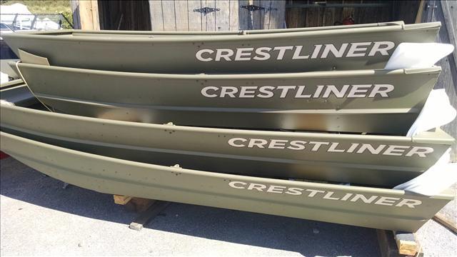 2016 Crestliner Jon boat 1436