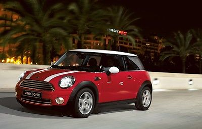 Mini : Cooper S Red Mini Cooper S 2008