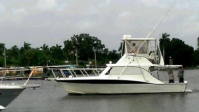 Beautiful Sport Fisherman 40'LOA  Enterprise Twin turbo diesels Hurth Tranny's