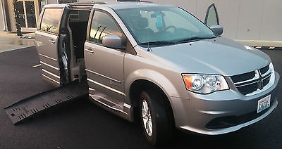 Dodge : Grand Caravan SXT Mini Passenger Van 4-Door 2014 dodge grand caravan sxt braunability xt conversion wheelchair accessible