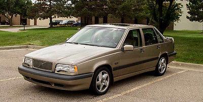 Volvo : 850 Turbo Sedan 4-Door 1994 volv 0 850 4 dr 20 valve turbo leather sunroof 5 cyl 20 valve gold