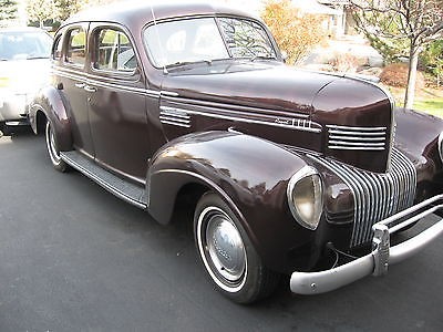 Chrysler : Other 1939 chrysler royal sedan
