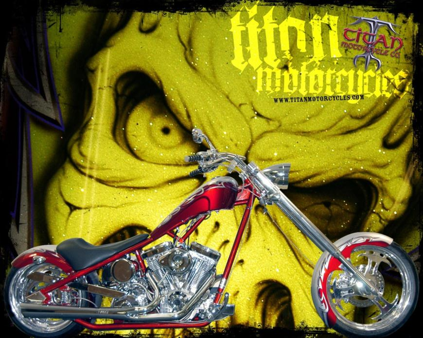 2007 Titan Motorcycle Co. Sidewinder CHOPPER RIGID