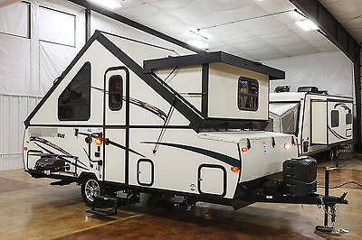 New 2016 T21DMHW A Frame Hard Side Lite Fold Down Pop Up Travel Trailer Not Used
