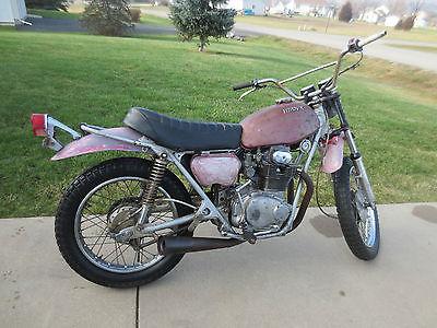 Honda : Other 1971 honda sl 350 motosport