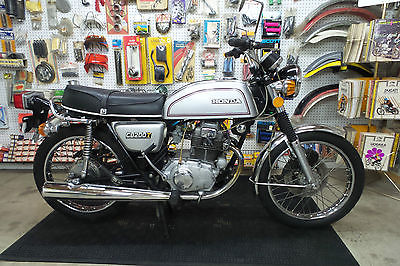 Honda : CB 1975 honda cb 200 t cb 200 t twin motorcycle with title nice