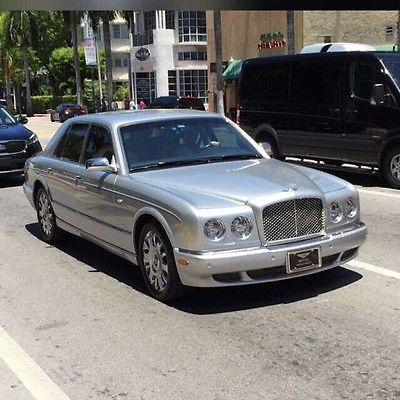 Bentley : Arnage MULLINER ( level 2 ) Bespoke build 2005 bentley arnage r mulliner level 2