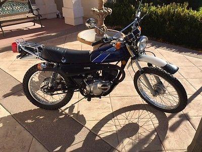 Kawasaki : Other 1977 kawasaki ke 175 motorcycle enduro dual sport