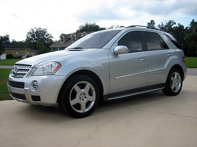 Mercedes-Benz : M-Class AMG Appearance Package 2008 mercedes benz ml 550 amg