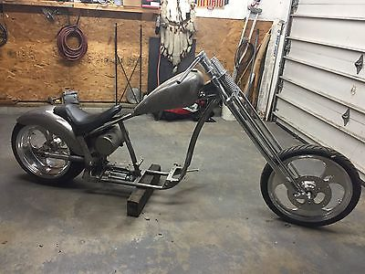 Custom Built Motorcycles : Chopper CAROLINA CUSTOM SOFTTAIL ROLLINF CHASSIE