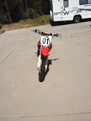 Honda : CR 2007 honda cr 85 r big wheel dirt bike