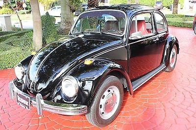 Volkswagen : Beetle - Classic 2dr 1968 vw beetle bug older restoration and in great condition