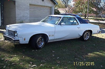 Oldsmobile : Cutlass W-30 Supreme 1975 hurst olds cutlass one of 40 left 455 4 limited slip the real deal no clone