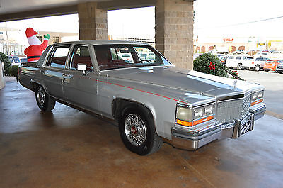 Cadillac : Brougham Base Sedan 4-Door 1988 cadillac brougham base sedan 4 door 5.0 l