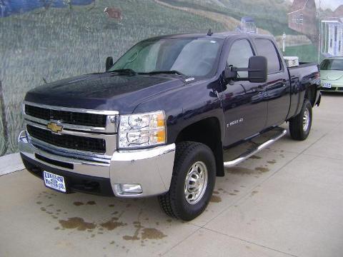 2008 CHEVROLET SILVERADO 2500HD 4 DOOR CREW CAB TRUCK