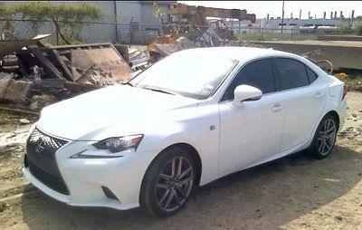 Lexus : IS 2015 used 2.5 l v 6 24 v automatic rwd sedan premium
