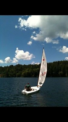 Sailboat used OK 13 ft with trailer