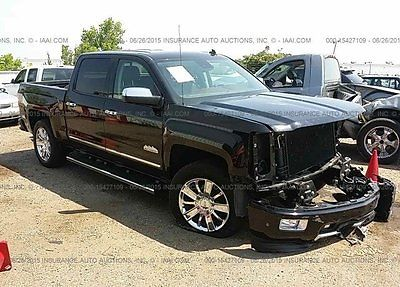 Chevrolet : Silverado 1500 High Country 2014 high country used 5.3 l v 8 16 v automatic 4 wd pickup truck bose onstar