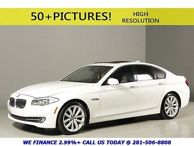 BMW : 5-Series 2012 535i NAV SUNROOF LEATHER SPORT PREMIUM XENONS 2012 bmw 535 i navigation sunroof leather sport premium xenons white tan beige