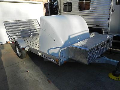 ALUMINUM motorcycle ATV UTV Golf Cart Mower Utility BikePro wheel chocks air dam