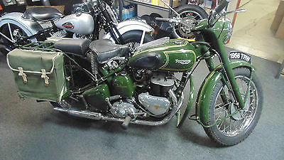 Triumph : Other 1956 triumph trw military motorcycle