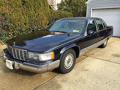 Cadillac : Fleetwood Brougham Sedan 4-Door 1993 cadillac fleetwood brougham