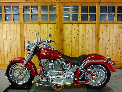 Harley-Davidson : Softail 2006 harley davidson fatboy cvo flstfse 2 canyon copper frame matched paint