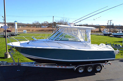 2009 SOUTHPORT 28 EXPRESS WA, TWIN 300HP ETEC'S, AC, RADAR, LOADED, NEW TRAILER