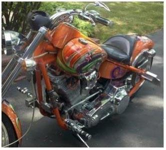 2003 Big Dog Motorcycles Bulldog