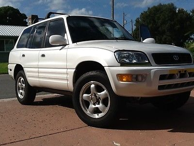 Toyota : RAV4 4WD L 2000 toyota rav 4 w locking differential 4 wd black leather and premium l package