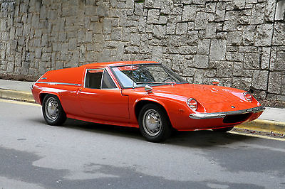 Lotus : Other Europa | Well-sorted turn-key driver 1969 lotus europa early s 2 lots of recent service