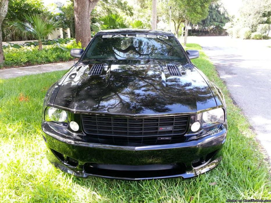 2005 Ford Mustang Saleen S281 SC Supercharged, 6k Miles