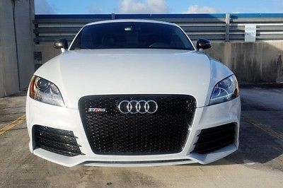 Audi : TT RS Coupe 2-Door TTRS TURBO CARBON FIBER SPORT TITANIUM EXHUAST 19'S CALL DAVID 281 248 7835