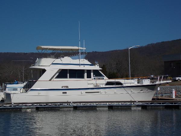 1987 Hatteras 53 Yacht Fisherman