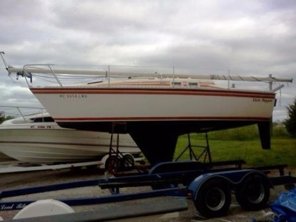 1984 Hunter 25.5 Sailboat