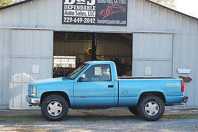 Chevrolet : C/K Pickup 1500 cheyenne 1993 chevy 1500 4 x 4